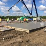 foundation concrete slab