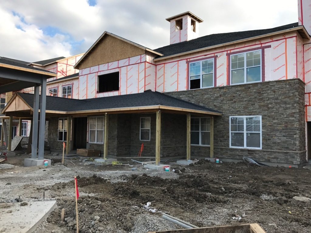 Construction Updates Storypoint Troy Senior Living