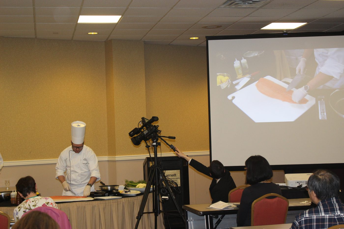 Chef Penn Cooking Demonstration