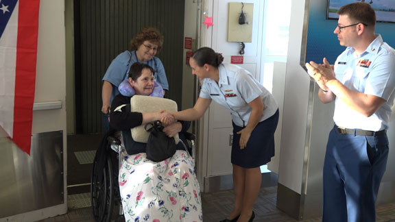 StoryPoint resident Vicki returning from Honor Flight