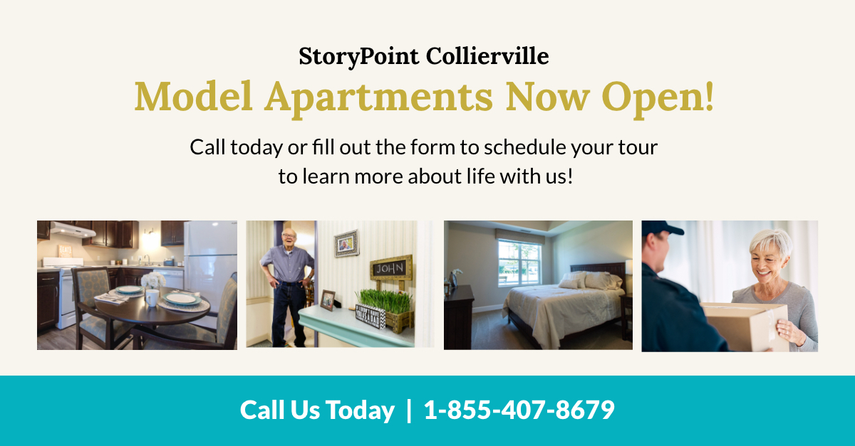 StoryPoint Collierville model apartments now open