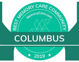 best memory care community Columbus award from memeorycare.com
