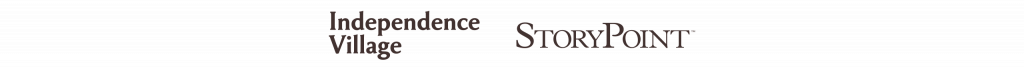 StoryPoint and Independence Village Logos