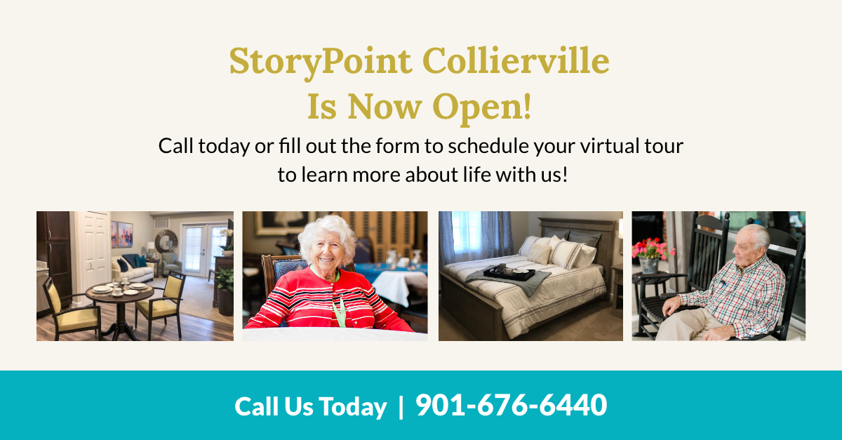 StoryPoint Collierville is now open