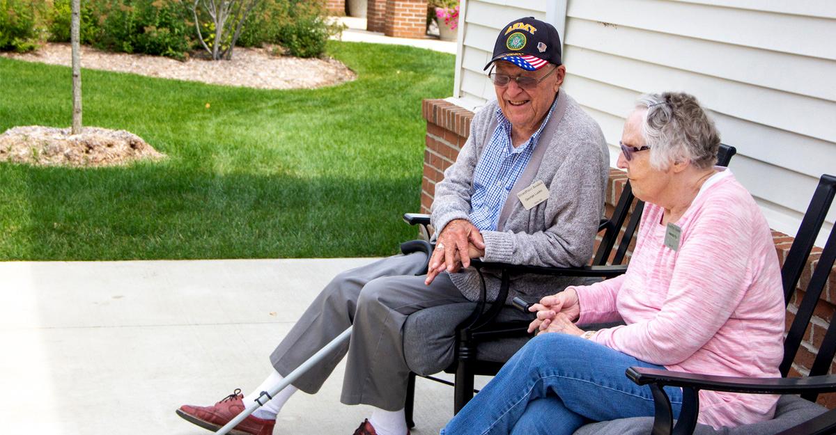 Senior Living Where Veterans Are Celebrated