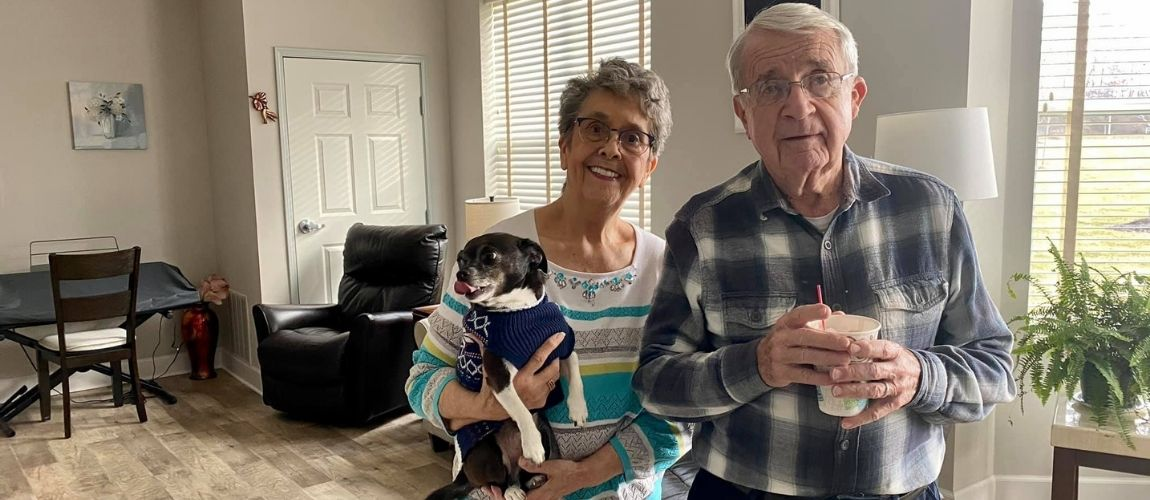 The Benefits Of Having A Pet In Senior Living